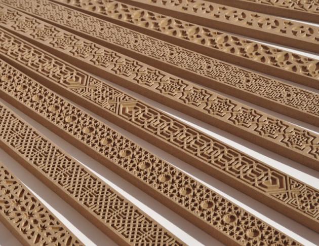 El rinc n de arte cenefas decorativas - Cenefas de madera para paredes ...