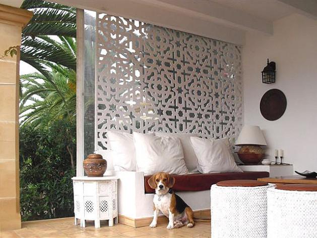El rinc n de arte celosias decorativas art sticas for Celosias de jardin