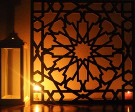 celosias, celosias madera, decoración andalusi,celosias arquitectonicas interior