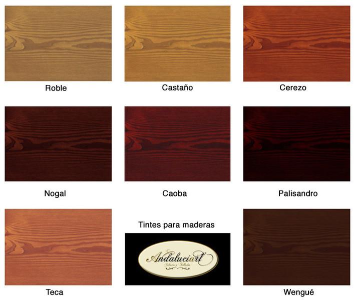 El rinc n de arte celosias madera pvc aluminio lat n - Colores de madera ...